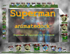 Superman animatedock