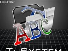 Ti System (Fonts)