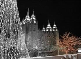 Christmas Temple