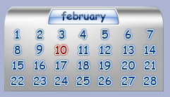 Windows RG Al Calendar