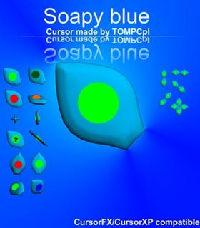 Soapy Blue