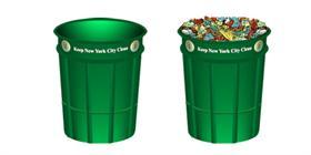 N.Y.C Litter Basket