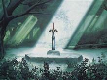 Legend Of Zelda Forest Sword