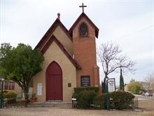 Tombstone church