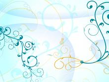 Blue Tracery 01