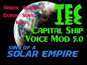 TEC Captil Ship Voice Mod 5.0