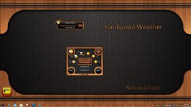 Hardwood Weather Widget