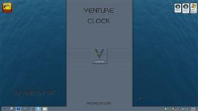 Venture Clock Widget