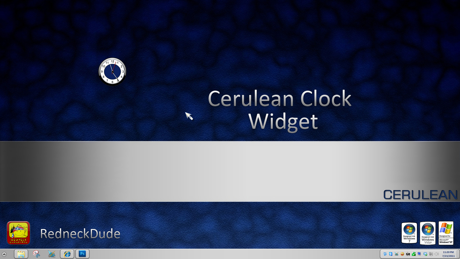 Cerulean Clock Widget