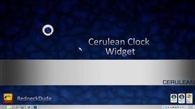 Cerulean Clock Widget