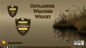 Outlander Weather Widget