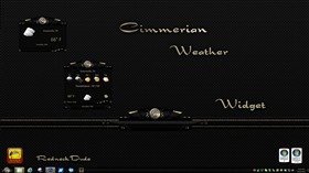 Cimmerian Weather Widget