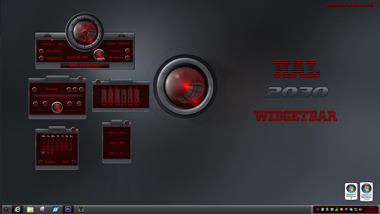 HAL 2030 WidgetBar