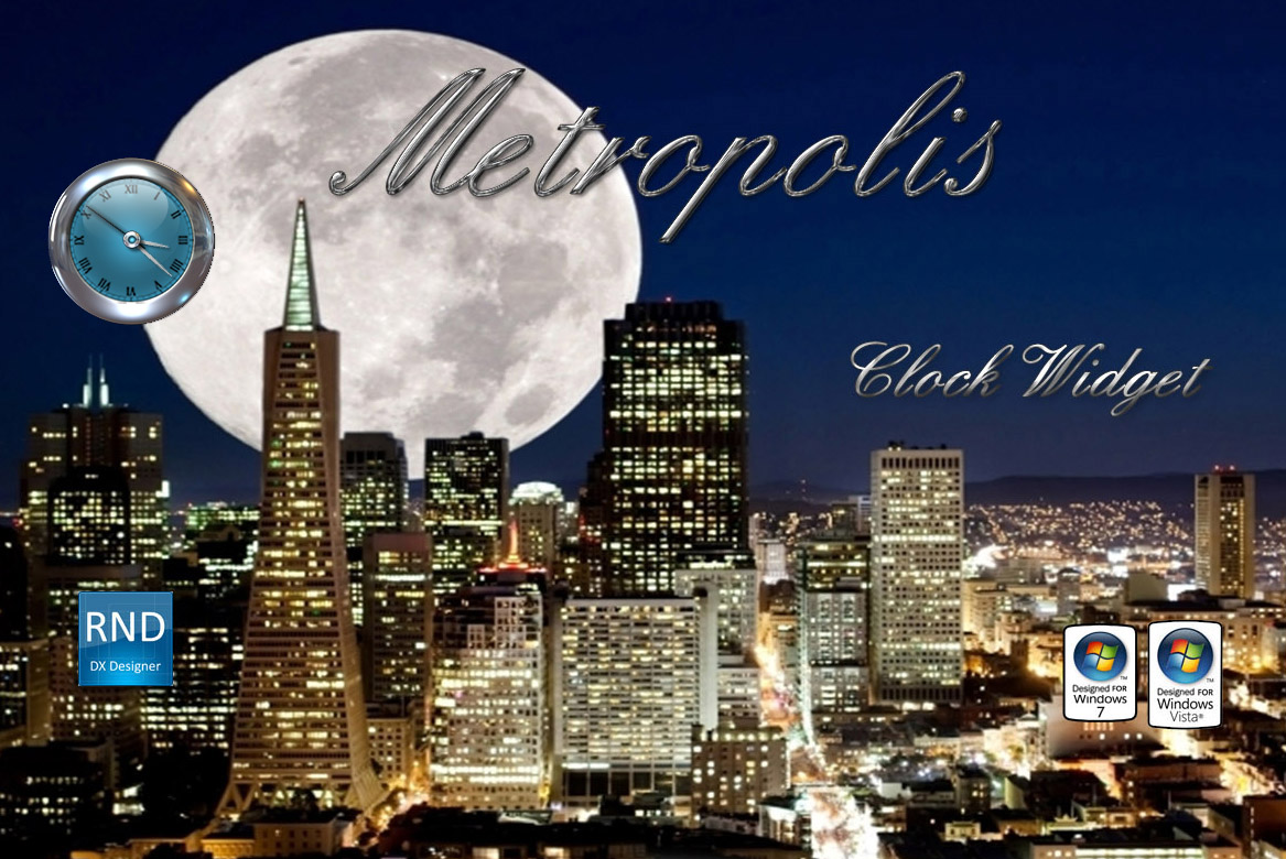Metropolis Clock Widget