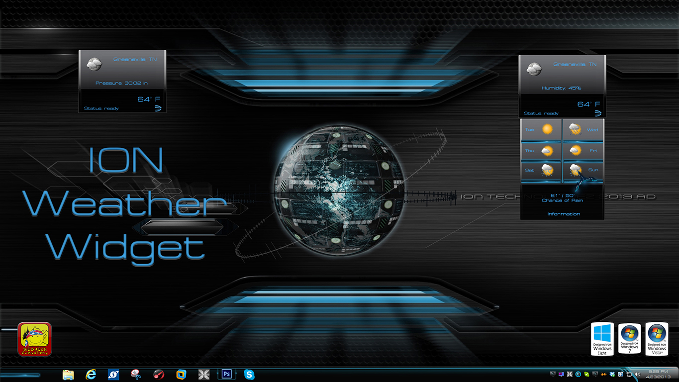 ION Weather Widget