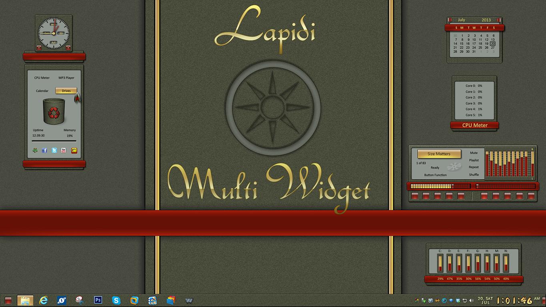 Lapidi Multi Widget
