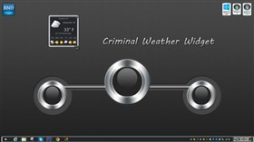 Criminal Weather Widget