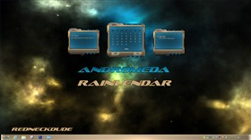 Andromeda Rainlendar