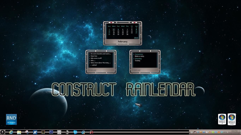 Construct Rainlendar
