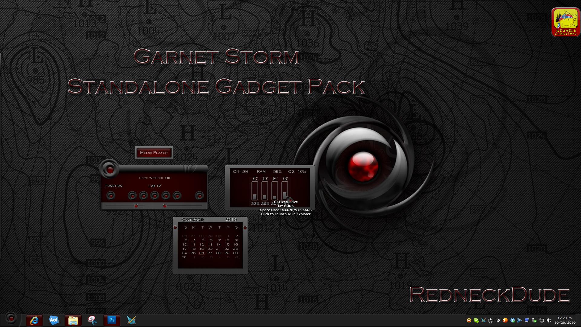 Garnet Storm Gadget Pack
