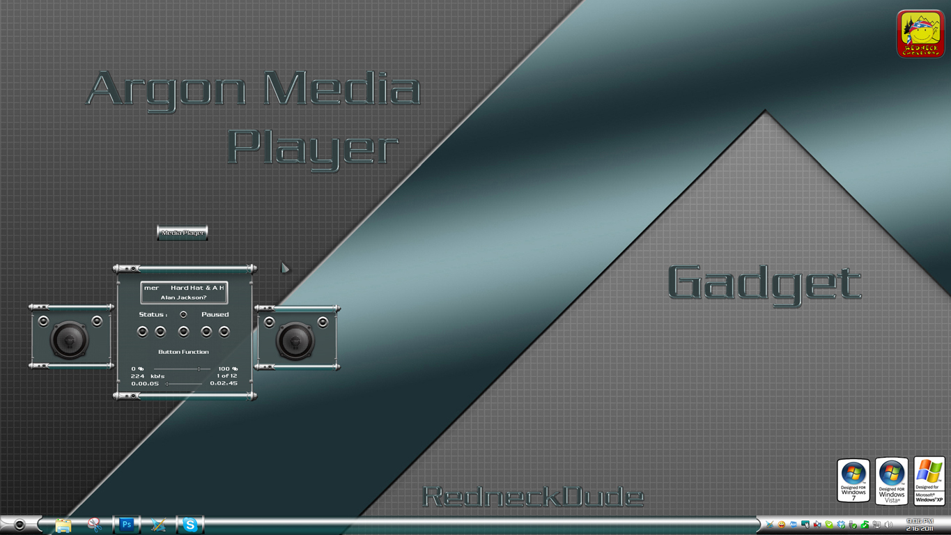 Argon Media Gadget