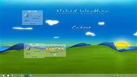 Naked Weather Gadget