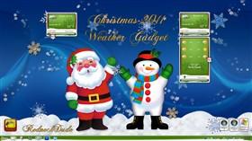 Christmas 2011 Weather Gadget