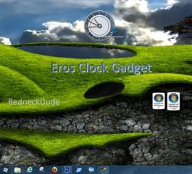Eros Clock Gadget