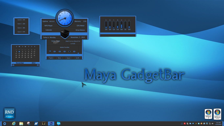 Maya GadgetBar