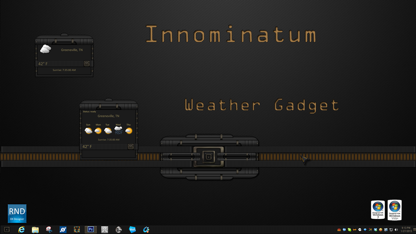 Innominatum Weather Gadget