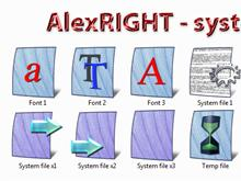 AlexRIGHT - System files