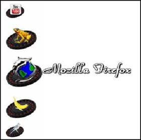 animated Mozilla Firefox chrome