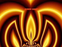 Royal Flame Screen Saver