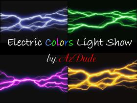 Electric Colors Light Show