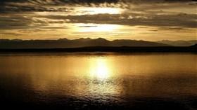 Alaska Sunset Glacier National Park
