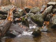 Autumn Rock Falls
