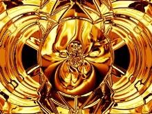 Golden Chrome Melt Logon