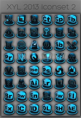 XYL 2013 iconset 2