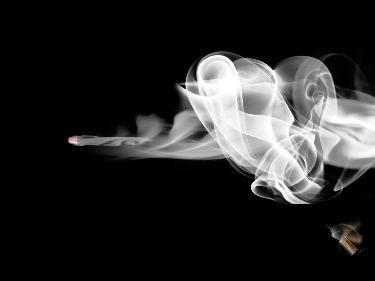 Bullet & Smoke (black)