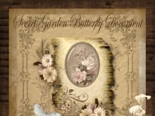 Secret Garden Butterfly Document