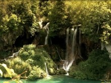plitvice inner waterfalls
