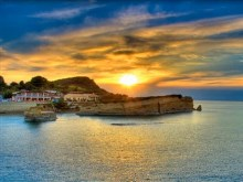 Sunset Corfu