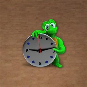 Winky Analog Clock Widget