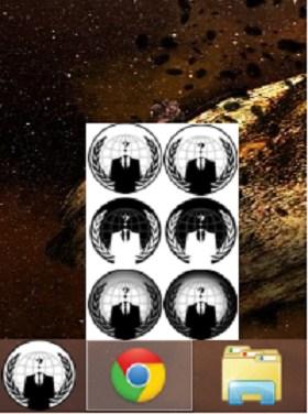 Anonymus Icon Button