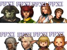FFXI Races Pack