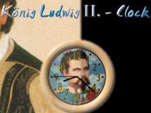 Bavaria-Clock - König Ludwig II.