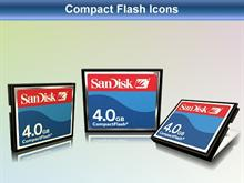 Compact Flash Icons