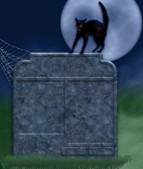 Halloween Start menu psd