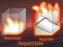 Forged Metal Trash