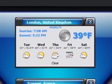 LK Weather Widget